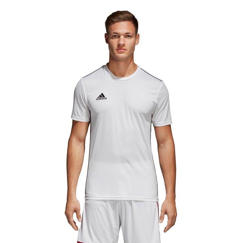 Koszulka adidas Core 18 JSY CV3453 biały XXXL
