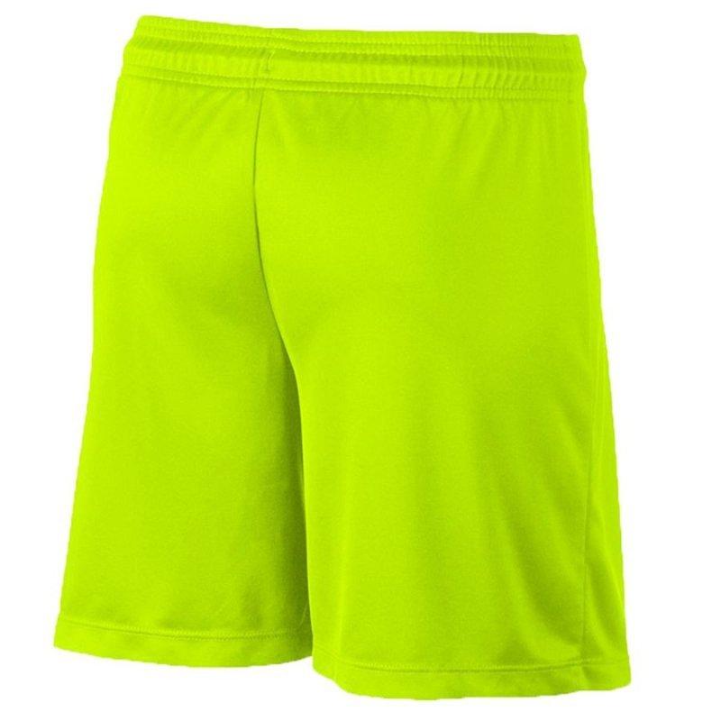 Spodenki Nike Park II Knit Junior 725988 702 żółty XS (122-128cm)