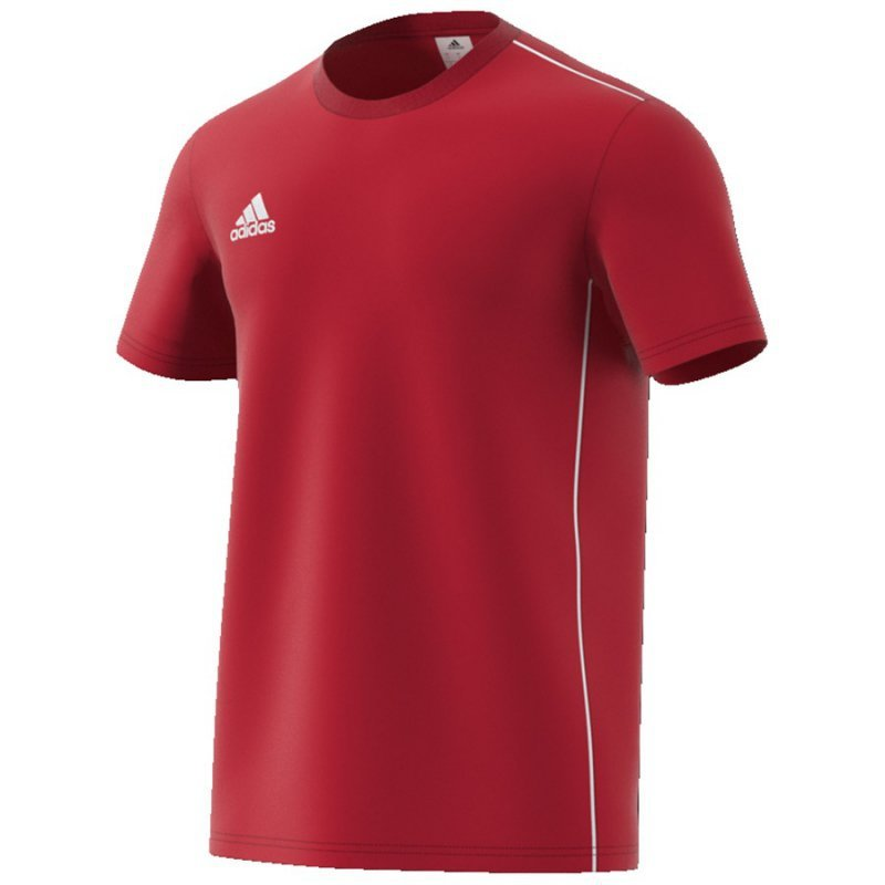 Koszulka adidas CORE 18 Tee CV3982 czerwony M