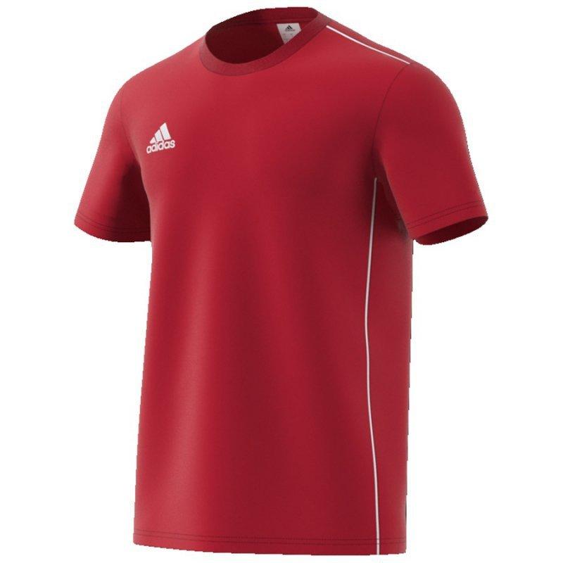 Koszulka adidas Core 18 Tee CV3982 czerwony XXXL