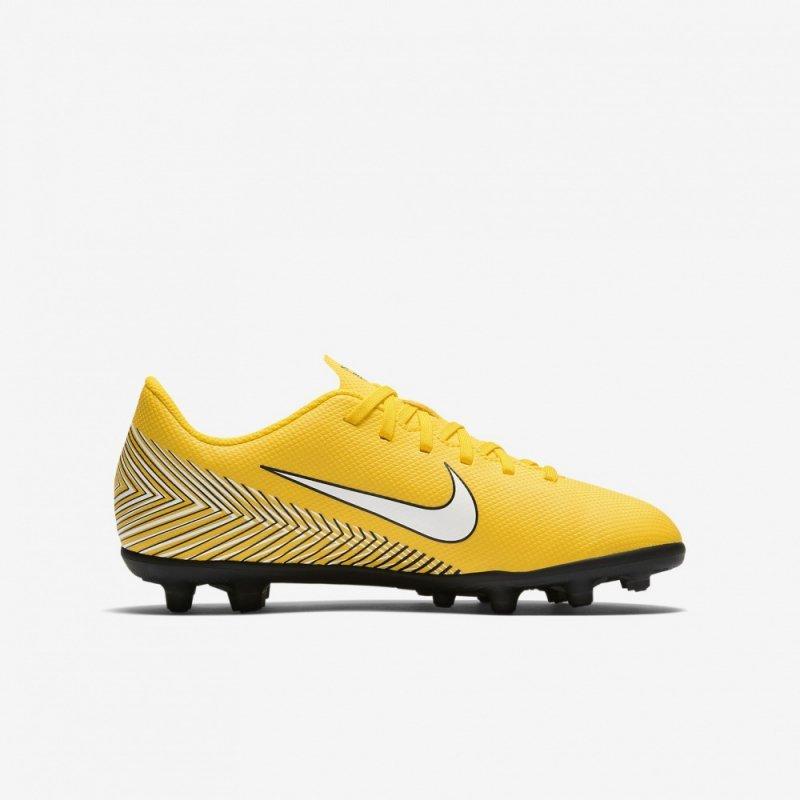 Buty Nike JR Mercurial Vapor 12 Club Neymar MG AO9472 710 żółty 38 1/2