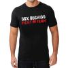 FIGHT TEAM - T-Shirt KOSZULKA BAWEŁNIANA DBX BUSHIDO  KT13-XL