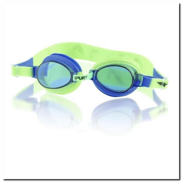 1122 AF BLUE/GREEN 02 OKULARKI SPURT
