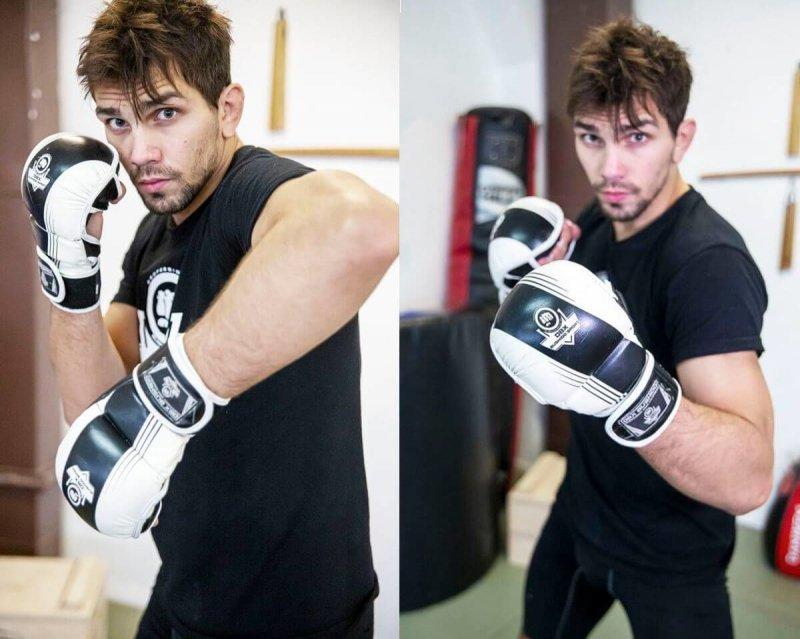 ARM-2011A - RĘKAWICE SPARINGOWE MMA, KRAV MAGA - S/M