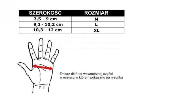 RĘKAWICE TRENINGOWE DO MMA I TRENINGU NA  NA WORKU BOKSERSKIM E1V6 - M