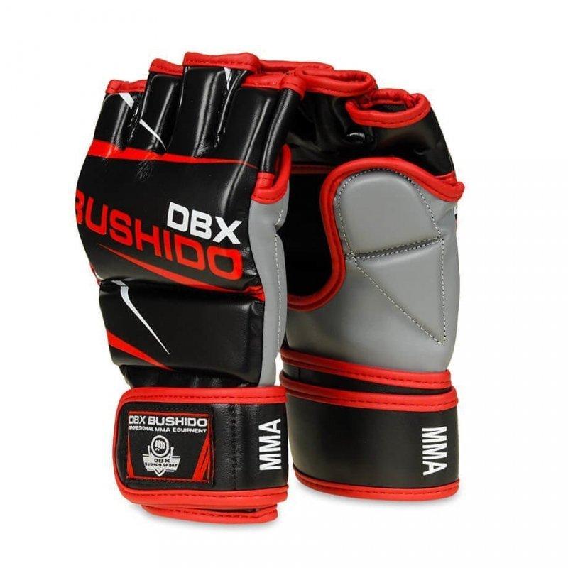 Profesjonalne Rękawice Do Treningu MMA i Ćwiczeń na Worku Bokserskim - DBX BUSHIDO E1v6