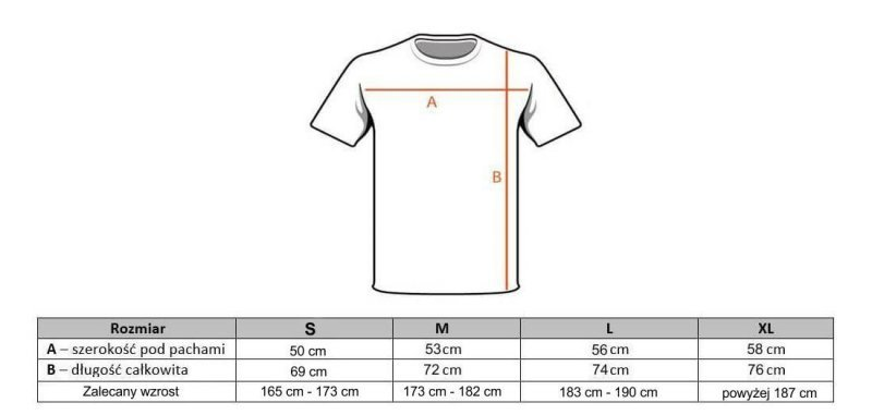 T-Shirt KOSZULKA BAWEŁNIANA DBX BUSHIDO CLASSIC BRAND WHITE KT10 - L