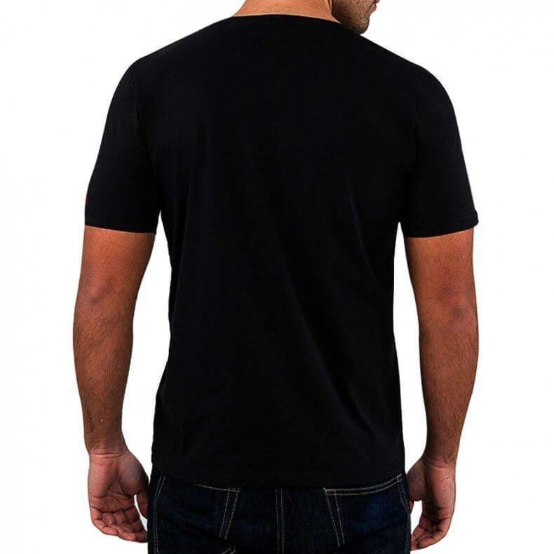 T-Shirt KOSZULKA BAWEŁNIANA DBX BUSHIDO CLASSIC BRAND WHITE KT12 -L