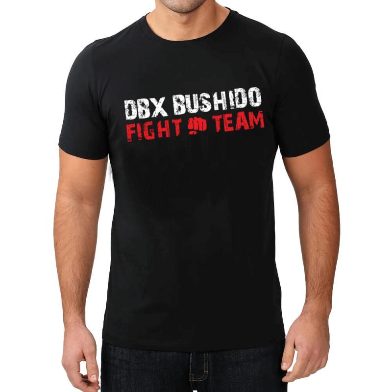 FIGHT TEAM - T-Shirt KOSZULKA BAWEŁNIANA DBX BUSHIDO   KT13-L