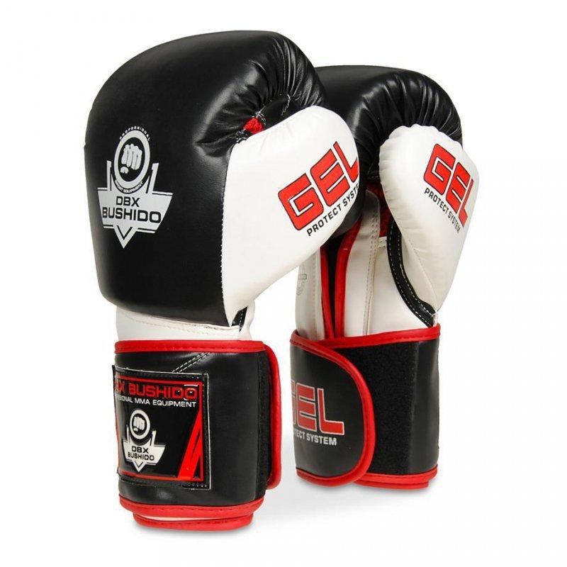 Rękawice bokserskie ze skóry naturalnej z techologią GEL  B-2v11 10oz