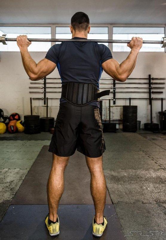 Pas kulturystyczny do cwiczeń na siłowni - do podnoszenia ciężarów DBX BUSHIDO - S