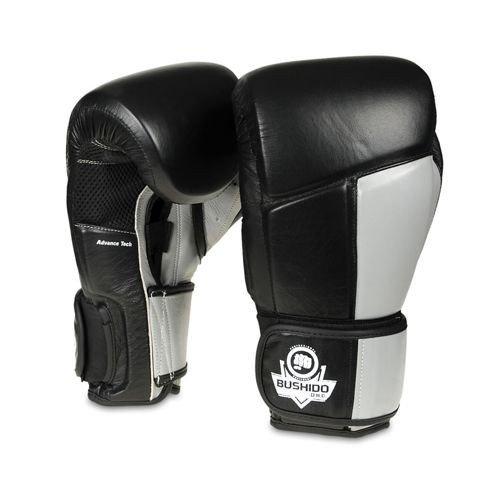 Rękawice treningowe Muay Thai sparingowe ze skóry naturalnej DBX BUSHIDO 10 oz