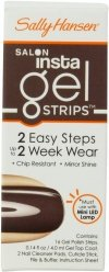 Sally Hansen Salon Insta Gel Strips - paski żelowe - 210 Commander In Chic