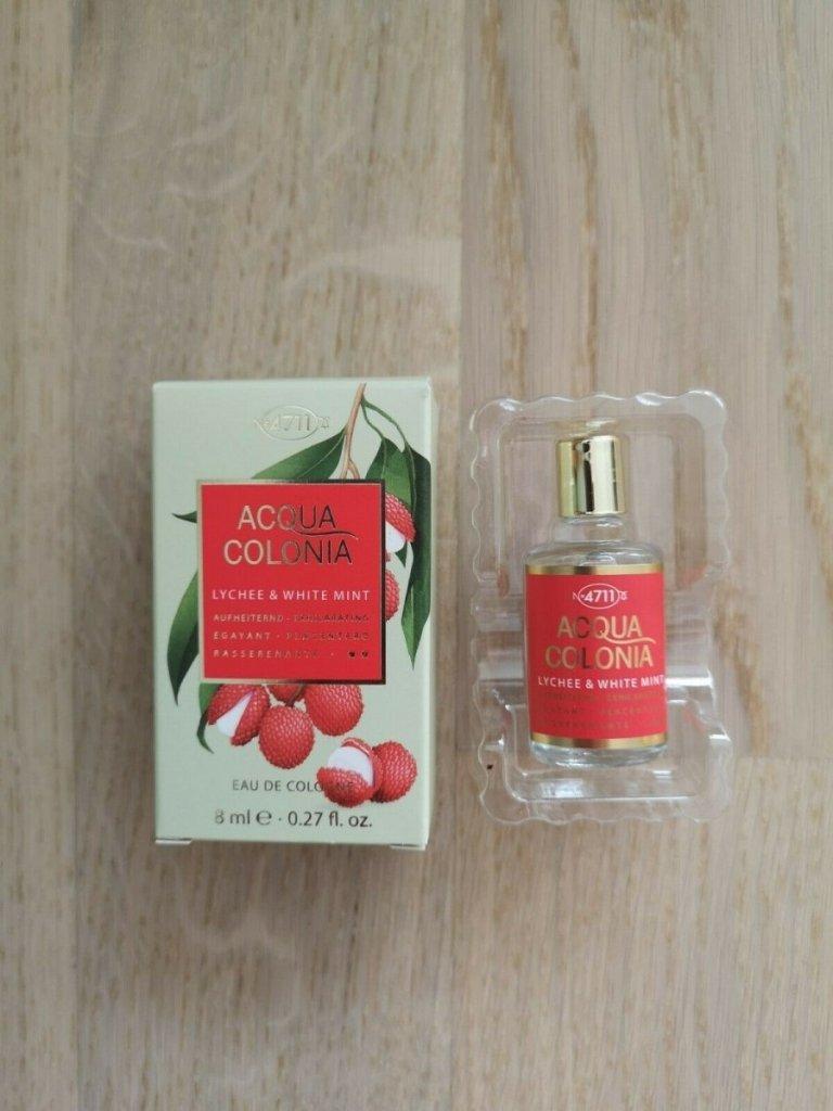 4711 acqua colonia lychee & white mint