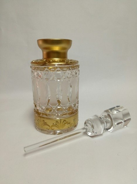 Dekoracyjny flakon kryształowy na perfumy 120 ml