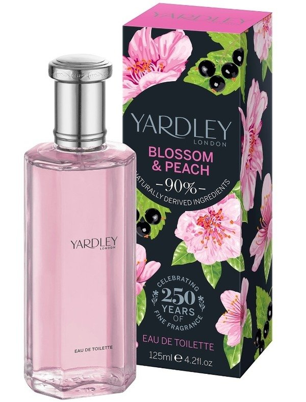 Yardley Blossom & Peach woda toaletowa 5 ml próbka roll-on