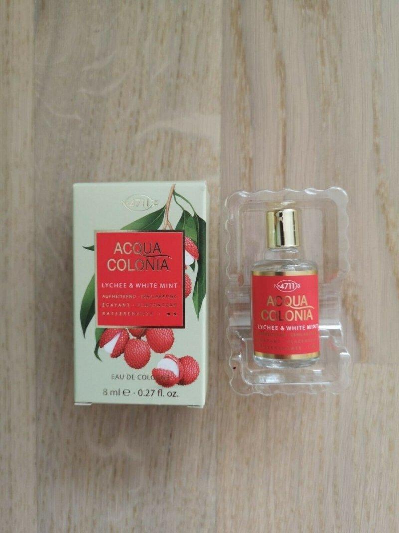 4711 Acqua Colonia Lychee White Mint woda kolońska 8 ml miniatura