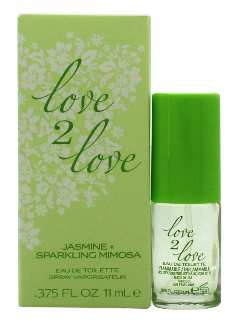 COTY LOVE 2 LOVE JASMINE & SPARKLING MIMOSA woda toaletowa 11 ml