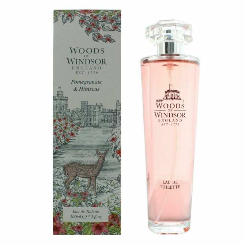 Woods Of Windsor Pomegranate & Hibiscus woda toaletowa 100 ml
