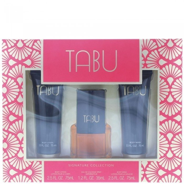 Dana Tabu Signature Collection zestaw woda kolońska 35 ml + 2 x 75 ml
