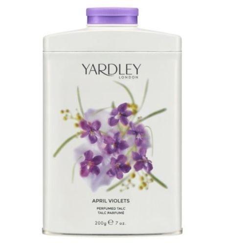 Yardley April Violets perfumowany talk do ciała 200 g