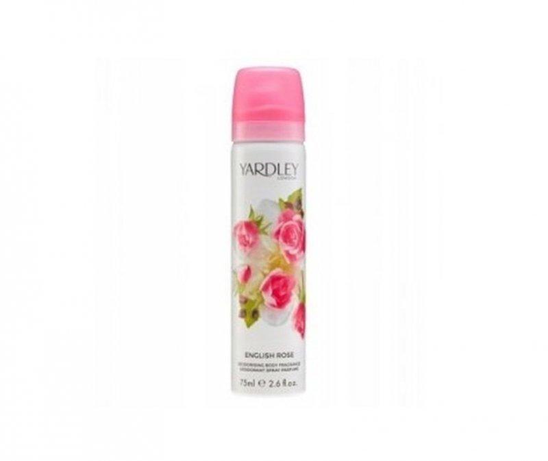 Yardley English Rose Perfumowany Dezodorant spray 75 ml