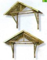 Drewniane zadaszenie Royal  100x82x160
