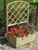 Donica ogrodowa z kratką DORIS