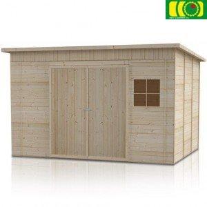 DM3 drewniany domek ogrodowy LEWKONIA (240/150)