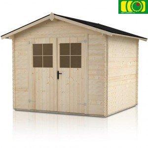 DM12 drewniany domek ogrodowy BAŁWATEK 3 (200/250)