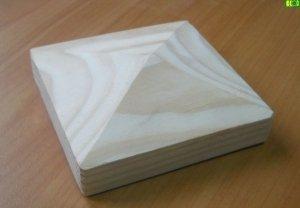Drewniany daszek stożek 9 x 9