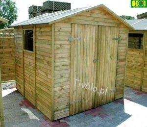 DM17 drewniany domek narzędziowy (220x213) NR-03