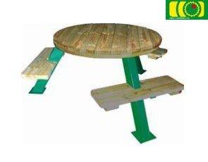 stół drewniany do ogrodu BRYTAN