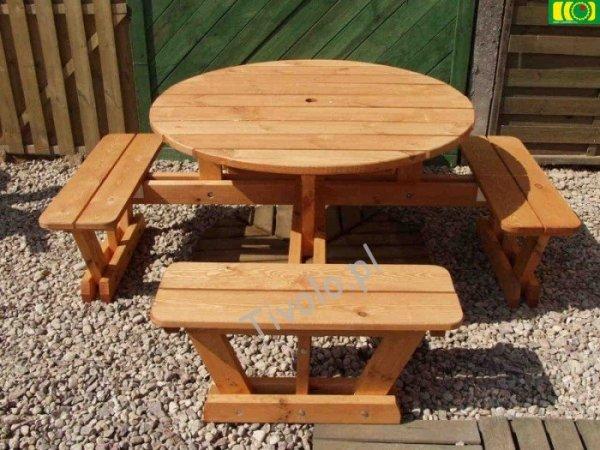 stół drewniany do ogrodu OXFORD