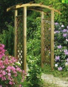 """Pergola przejścowa do ogrodu """"NORDIC"""" 240x160x54"""