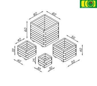 O07 donica 4-warstwy (40x40)