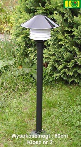 Lampa ogrodowa 95cm z kloszem