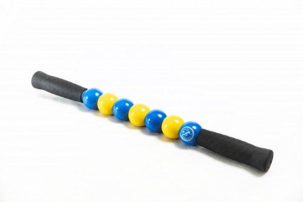 ROLLER RĘCZNY - kolor niebiesko-żółty