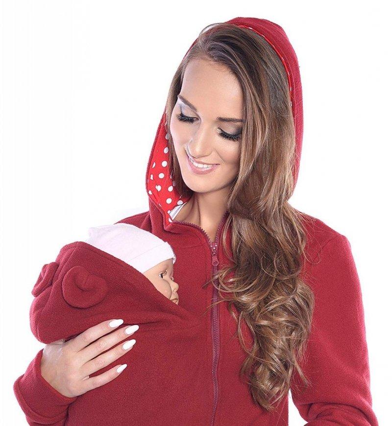 MijaCulture - polar do noszenia dziecka 3073A bordo
