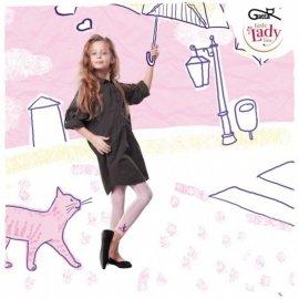 NIKA LEGGI - Leggingsy dziecięce wzorzyste 60 DEN