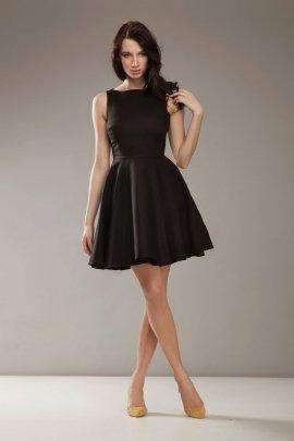 Stylowa sukienka AUDREY - czarny - S17O