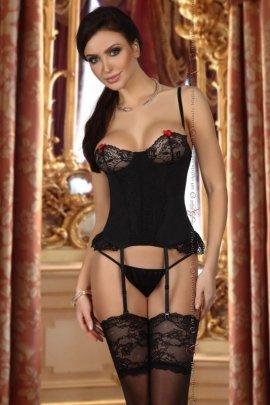 Shirley corset black