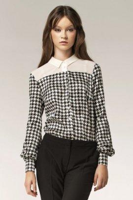 Dwukolorowa koszula - wzór - B29