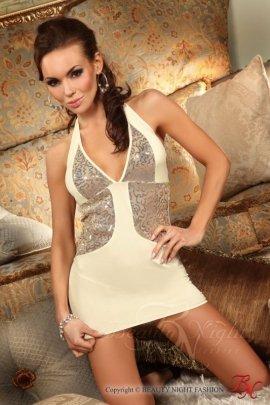 Calipso dress ecru