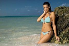 Kostium kąpielowy Megan Seafoam Glow M-251 Miętowy (84)