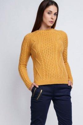 Sweter Candice SWE 042 żółty