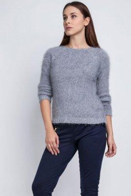 Sweter Monique SWE 058 szary
