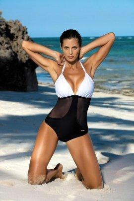 Kostium kąpielowy Priscilla Bianco-Nero M-428 (7)