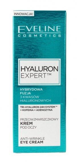 Eveline New Hyaluron Drugiej Generacji Krem pod oczy przeciwzmarszczkowy  15ml