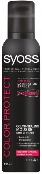 Schwarzkopf Syoss Color Protect Pianka do włosów 250 ml